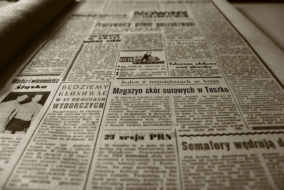 Old newspaper 350376 1280
