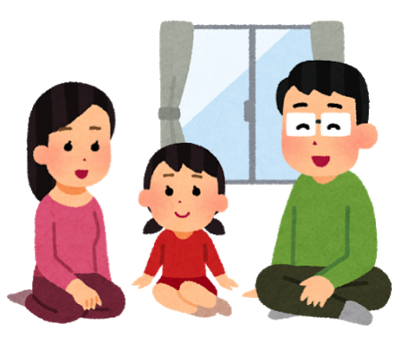 Jitaku taiki relax family