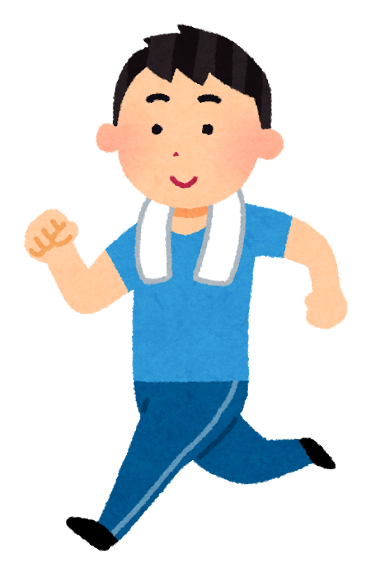 Sport jogging man