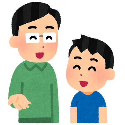 Talk oyako father son