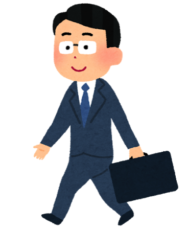 Walking businessman2
