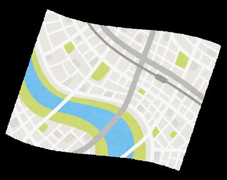 Map open