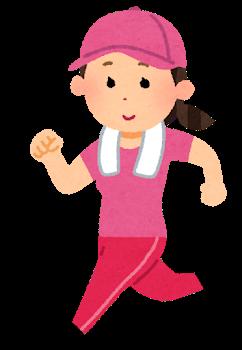 Sport jogging woman cap