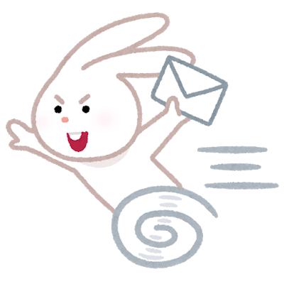 Speed fast rabbit mail