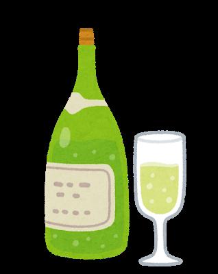 Drink sparkling wine