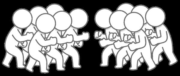 Figure fight war 6vs6