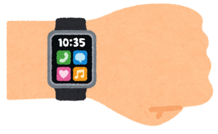 Watch face arm smartwatch