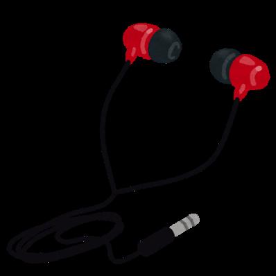 Music earphone canal
