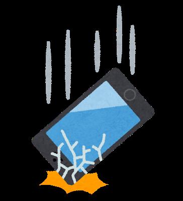 Smartphone otosu wareru 1