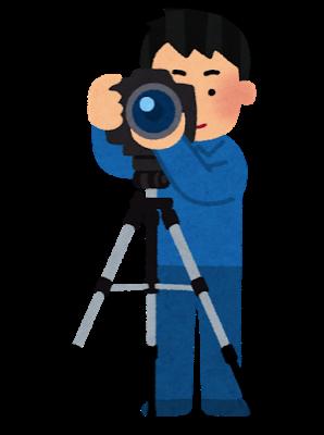 Camera satsuei sankyaku man