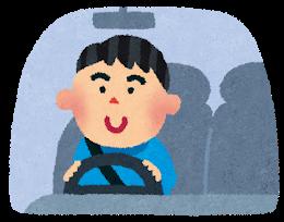 Car driving man