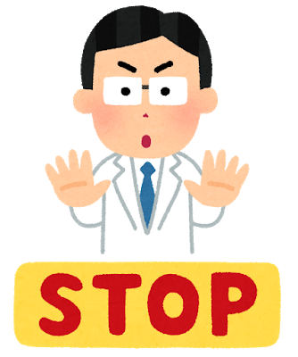 Medical doctor stop
