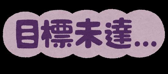 Mokuhyou mitatsu text