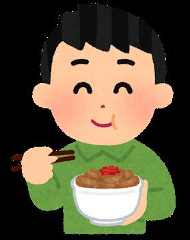 Syokuji gyudon man